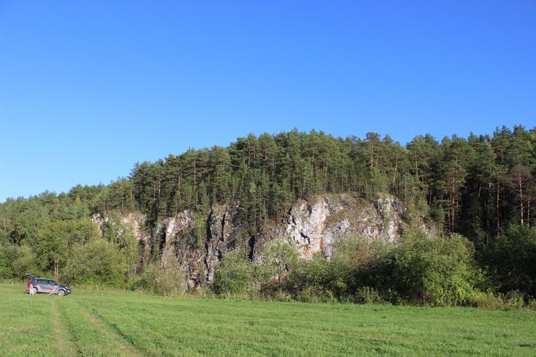 Хвощевский камень на реке Реж