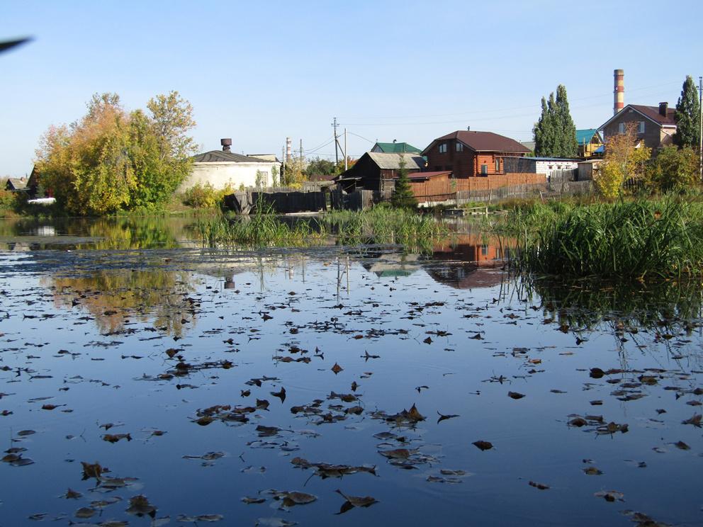 Еще один вид со стороны Талицкого пруда