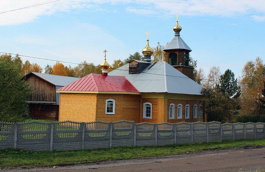 Село Арамашка: Петропавловский храм