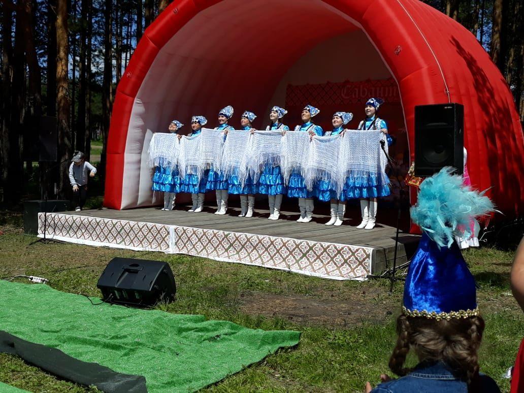Во время праздника Сабантуй в Реже, который ежегодно проводится под эгидой Центра национальных культур