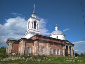 Село Липовское: Христорождественская церковь