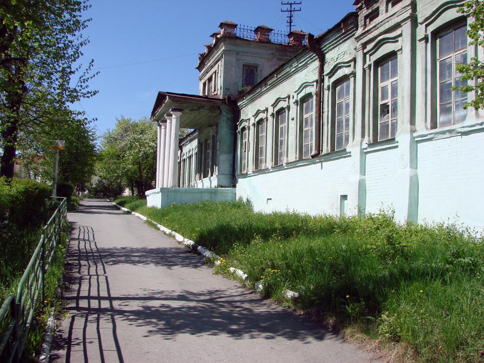 Заводоуправление старого Режевского завода. Фото Дениса Рычкова