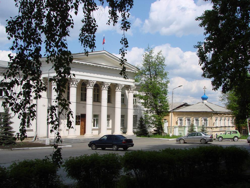 Администрация РГО и храм Иоанна Кронштадского в Реже