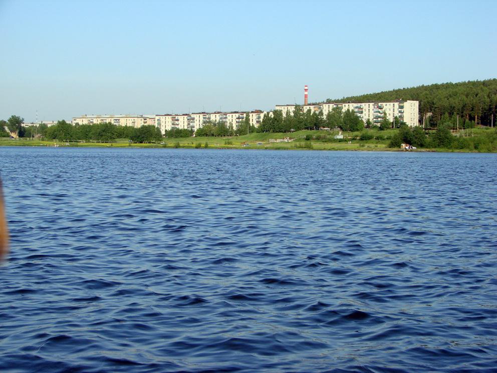 Гавань со стороны Режевского пруда