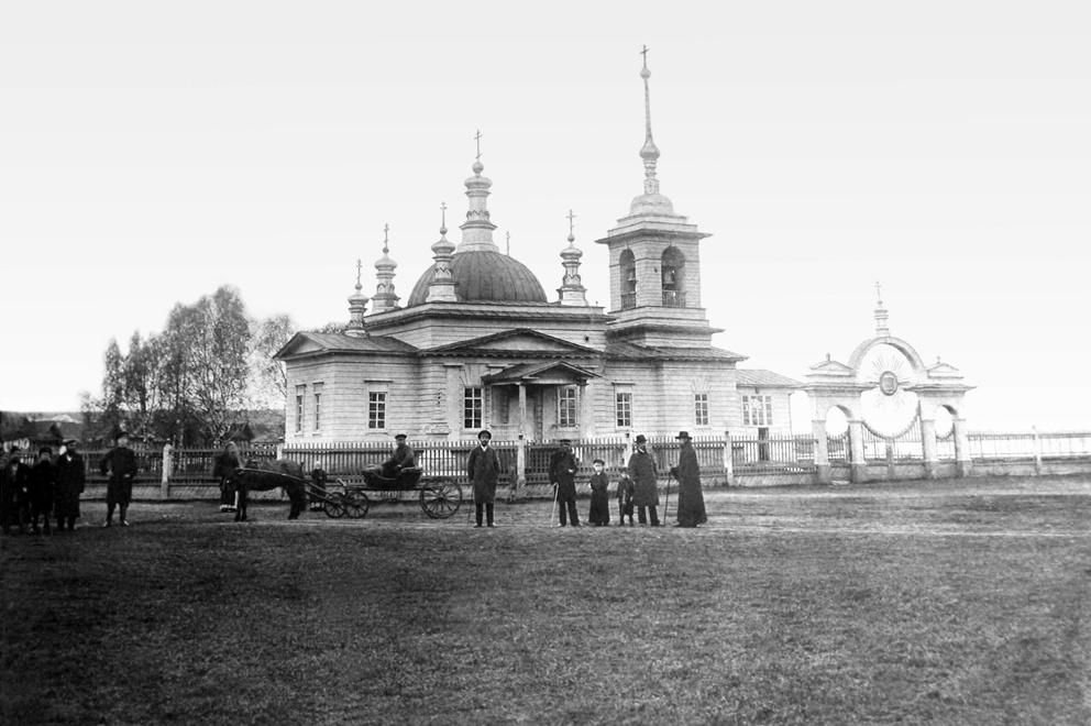 Успенская единоверческая церковь на Режевском заводе
