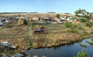 Деревня Чепчугово в районе села Глинского