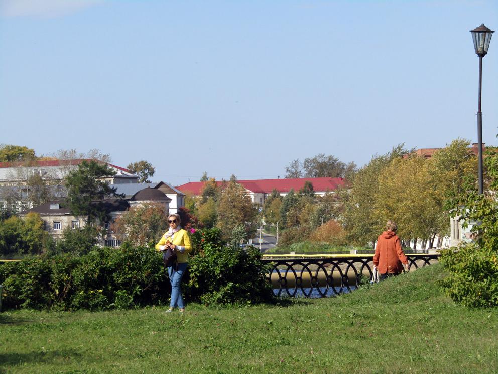 Вид на центральную часть Режа