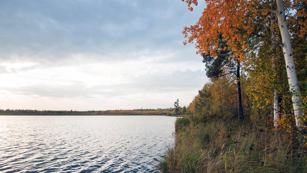 На Костоусовском озере