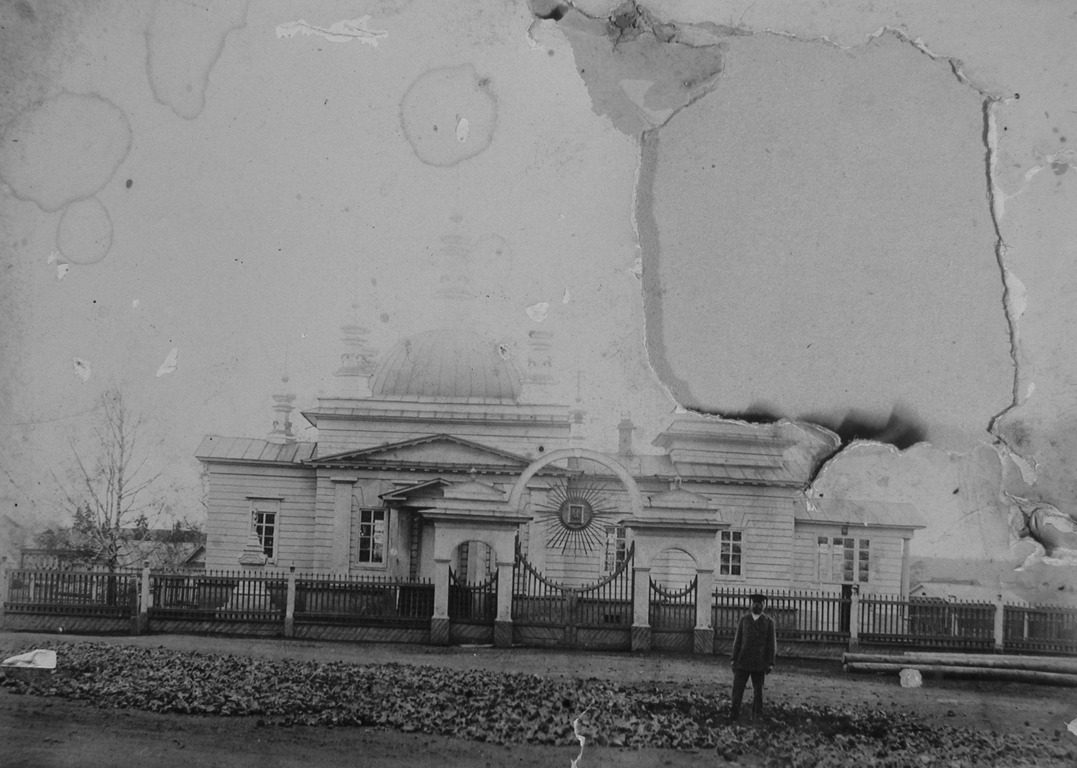 Успенский храм в Реже